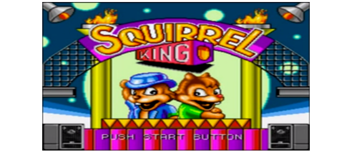 Squirrel King Title
