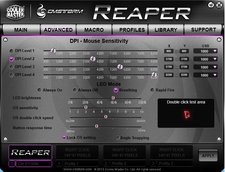 CM Storm Reaper Software