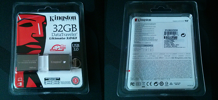 Kingston DataTraveler Packaging