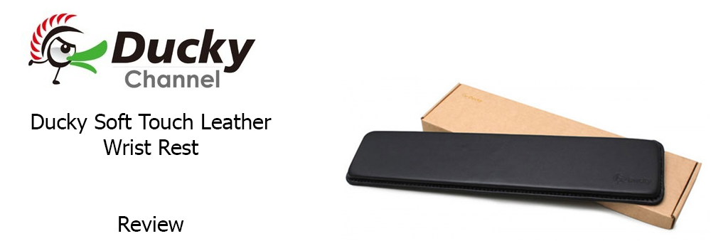 Ducky Leather Wrist Rest Main Image