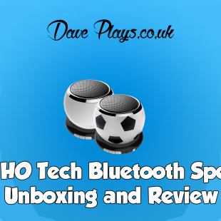 SUN-HO Tech Bluetooth Speaker Unboxing and Review