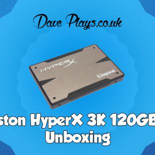 Kingston HyperX 3K SSD Unboxing Video