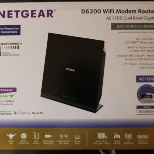 Netgear D6200 Wireless Router Review