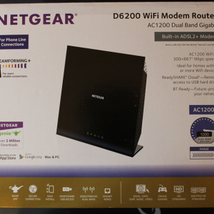 Netgear D6200 Wireless Router Review