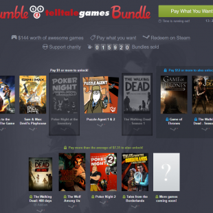 Humble telltale games bundle – Get your point and click itch fixed