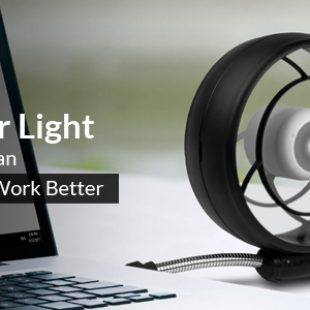 ARCTIC Summair Light – brings a gentle breeze to your desk