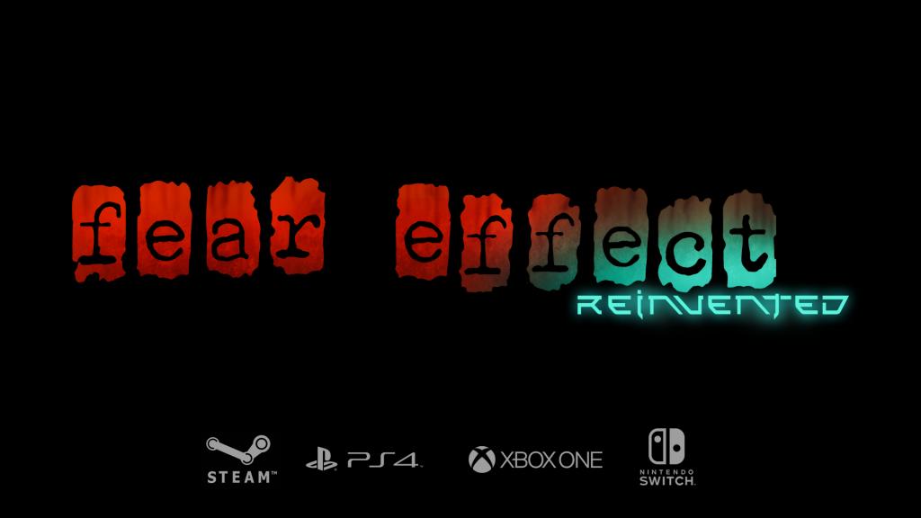 Fear Effect Reimagined Title