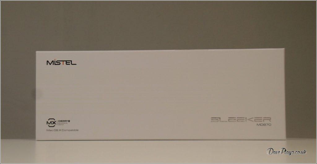 Mistel MD870 SLEEKER Front Box