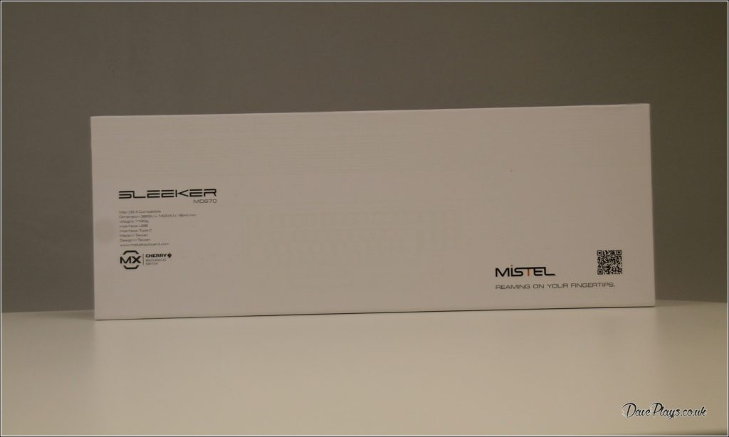 Mistel MD870 SLEEKER rear Box