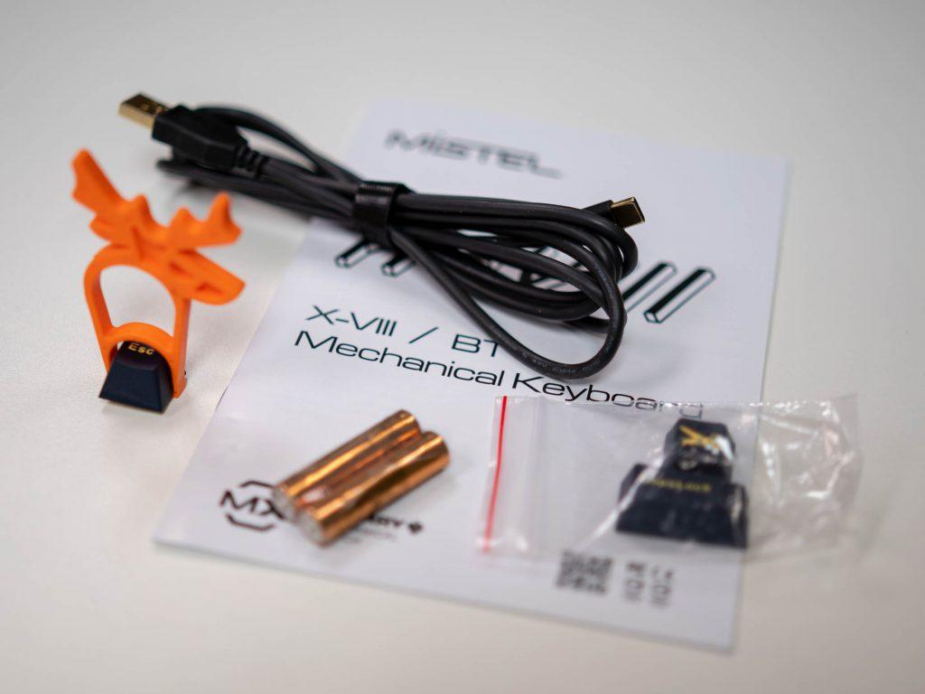MISTEL X-VIII BT - Accessories